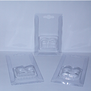 Blister Shell for 207,245,989 Sized Car Bulbs x100 or x1000