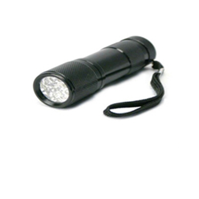 AA 9 LED Compact Black Torch