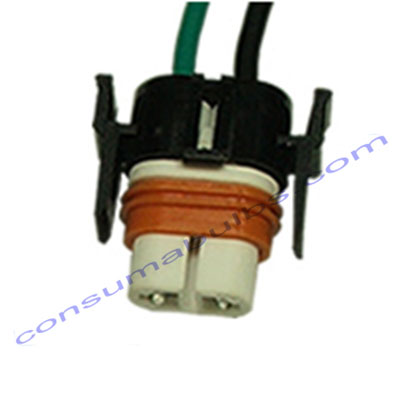 Ceramic Bulb Holder H11 Straight Cable Exit (BH007)