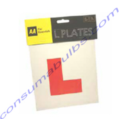 AA Self Adhesive L Plates  **CURRENTLY UNAVAILABLE**